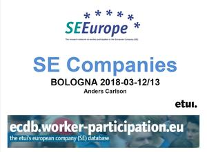 SE Facts and Figures Bologna 2018 cover